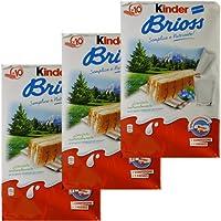 3x Ferrero Kinder 'Brioss' Küchlein mit Milch Brioche, 10 x 28 g