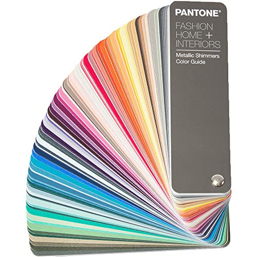 PANTONE FHIP310N FHI Metallic Shimmers Color Guide, Metallisch - Pantone Fashion