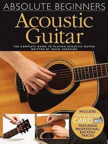 Absolute Beginners: Acoustic Guitar (Book / Audio Download)