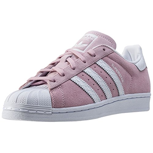 adidas SUPERSTAR W S76155 Unisex - adulto Scarpe sportive rosa bianco