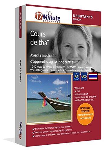 Cours de thaï pour débutants (A1/A2). Logiciel pour Windows/Linux/Mac OS X. Apprendre les bases du thaï