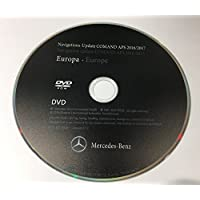 2017 Mercedes NTG1 GPS Map Update DVD UK Europa