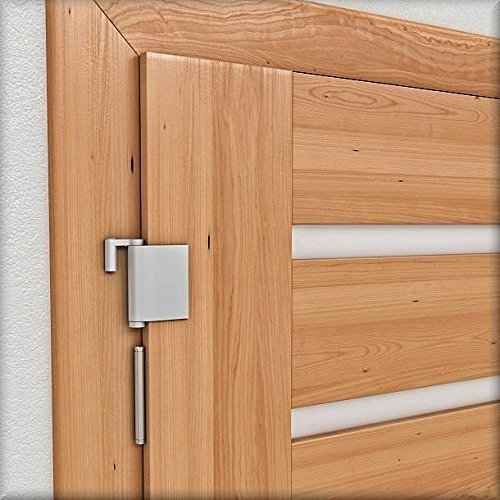 Türschließer Türanlehner - zum automatischen Schließen und Anlehnen der Tür - Mini-türschließer
