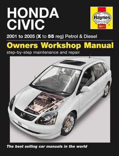 honda-civic-petrol-diesel-service-and-repair-manual