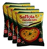 #10: Big Bazaar Combo - Saffola Masala Oats, Curry and Pepper, 40g (Buy 3 Get 1, 4 Pieces) Promo Pack