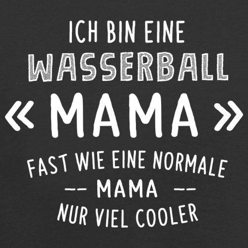 Ich bin eine Wasserball Mama - Damen T-Shirt - 14 Farben Schwarz
