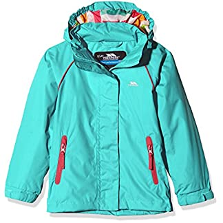 Trespass Kids' Lunaria Waterproof Rain/Outdoor Jacket 5