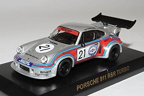 Porsche 911 RSR Turbo Schurti Martini Racing Nr 21 1/64 Kyosho Sonderangebot Modell Auto