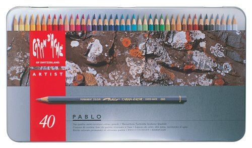 Caran Dache Pablo Pencil Set of 40