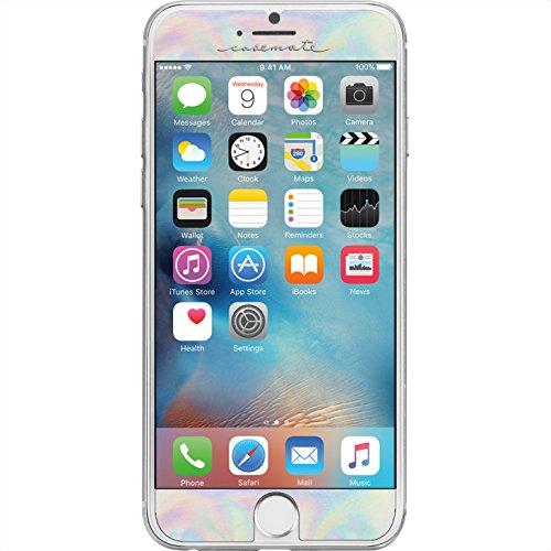 Case-Mate CM034972X - Protector de pantalla para Apple iPhone 7 / 6 / 6S, color iridiscente
