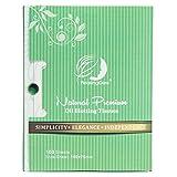 Natürliches Grüner Tee Öl Absorbierendes Gewebe - 100 Stück