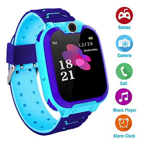 Uhr Phone Kinder Musik Smart Watch für Jungen Mädchen mit Kamera Spiel Smartwatch (Nein GPS)