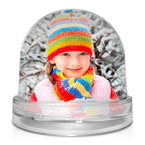 Bola de Nieve Personalizada con tu Foto, diseño o Texto, Original y Exclusivo.