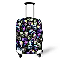 Showudesigns Funny Animal Classic Men Women Luggage Suitcase Cover for Air Travel Case