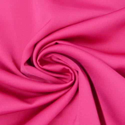 Royal micro raso tessuto al metro rosa fucsia
