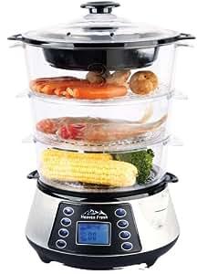 NaturoPureTM 11.5L Digital Food Steamer