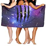 """Beach Towel Black Panther Glares 80"""" X 130"""" Soft Lightweight Absorbent for Bath Swimming Pool Yoga Pilates Picnic Blanket Towels"""