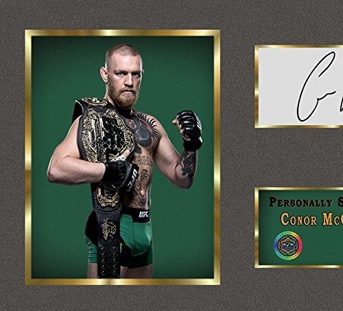 Conor McGregor UFC MMA SIGNED Autograph Sport Boxen Kuriositäten mit Rahmen Abbildung 2