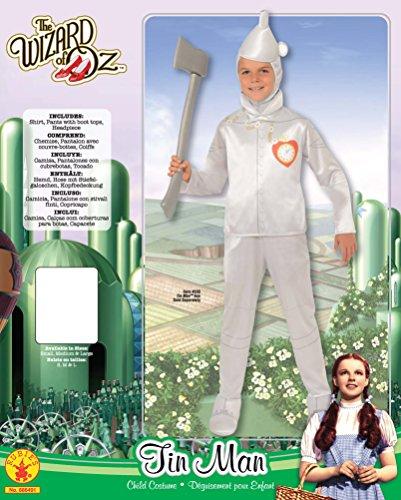 Imagen de tin man  el mago de oz  childrens disfraz  medium  132cm alternativa