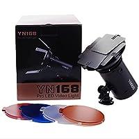 Yongnuo YN168YN-168PRO LED için Studio Canon Nikon Sony Camcorder DSLR LF465