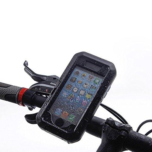 Wasserdichte Fahrradhalterung, Pasway Fahrrad Case/Tasche Handy/Smartphone Halterung für iphone 5 / 5S / iphone SE Motorrad Fahrrad Lenker, wasserdicht , Stoßfest geschützt Fahrrad Telefon Halter (Kommen Sie Und Nehmen Sie Es Handy-fall)