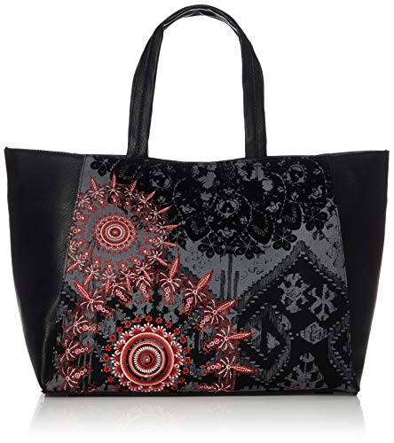 Desigual Red Queen Cuenca Shoulder Bag Negro