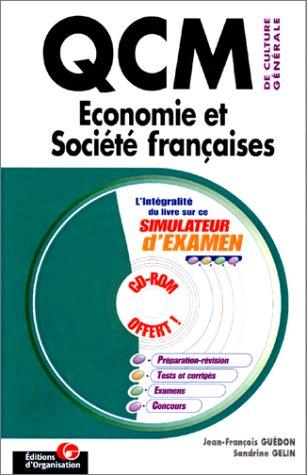 QCM de culture générale : Economie et société française
