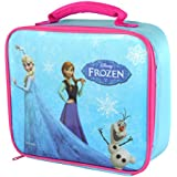Official Kids Disney Frozen Insulated Box Bag Back to School Lunch Bags
