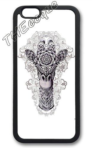 """Coque Housse Cover iPhone 6 / 6s ( 4,7 pouces ) 4.7"""" - Luxe Vintage rigide transparent Coque Žtui Case fleurs THEcoque DESIGN case - Violet 2"""