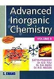 Advanced Inorganic Chemistry (Volume - II) 18th Edition price comparison at Flipkart, Amazon, Crossword, Uread, Bookadda, Landmark, Homeshop18