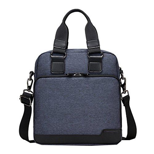 Yy.f Mode-Mann-Tasche Oxford Tuch Handtasche Neue Herren-Business-Taschen Schulterkurierbeutel Aktenkoffer Leinwand Farbe 3 Blue