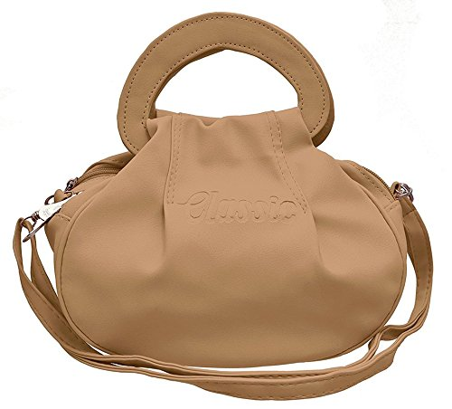 BFC- Buy for change Fancy Stylish Elegant Women\'s Cross Body Cream Sling Bag