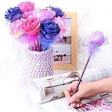 lyff 12Color Rosa Flores Lápiz Creative Beautiful bolígrafo regalo del día de Acción de Gracias de regalo de los niños herramientas de escritura