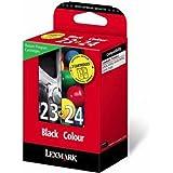 Lexmark Twin-Pack Black & Colour, 18C1419