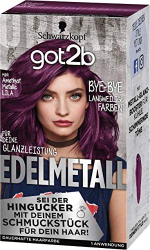 Got2b Edelmetall Amethyst Chrome Metallic M69 Stufe 3, 143 ml