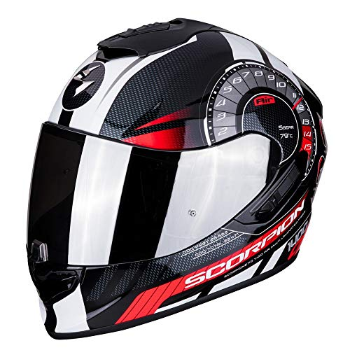 Scorpion EXO-1400 - Casco integral fibra carbono moto