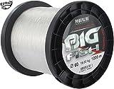 Powerline - Nylon De Peche Big Fish Cristal 1000 M Modèle : 45/100 Mm - 12 Kg
