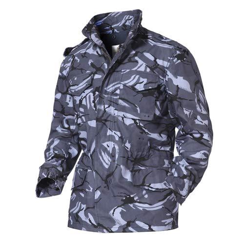 Tarnung Shjzom Männer Military Army Tactical Jacken Multicam Herbst Winter Windbreaker Durable Outwear Trenchcoat Ocean Jungle XXL - Mit Mäntel Wolle-liner