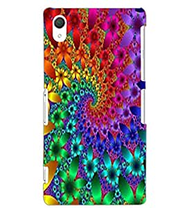 SONY XPERIA Z2 ILLUSSION Back Cover by PRINTSWAG