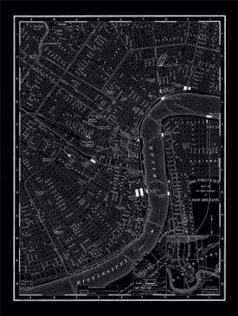 Feeling-at-home-Kunstdruck-New-Orleans-1895-cm121x91-Poster-fuer-Rahmen