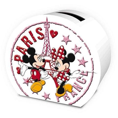 Tirelire Poupee - Tirelire céramique Minnie et Mickey à