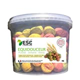 ESC Mountainbiken–equidouceur 1kg–Leckerlis für Pferde und Ponys