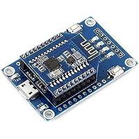 Pegcdu Kit de 2 4 GHz de doble modo de evaluación Xbee Bluetooth con adaptador USB inalámbrico Evaluation Board
