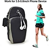 Farraige Waterproof Sport Armband Unisex Running Jogging Gym Arm Band Case Cover for Mobile iPhone 6s 6 Plus Phones Till 5.7 inches
