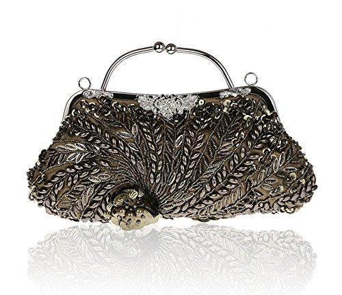 Borsa di moda cena/ borsa a mano in rilievo/Strass borsa/ borsa da sera delle signore-G G