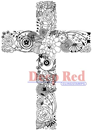 deep-red-stamps-foam-cling-2-inch-x-3-inch-floral-cross