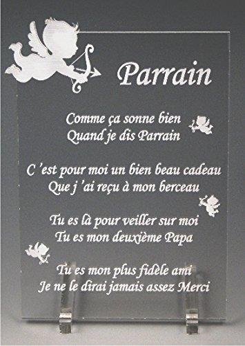 1 Poème Parrain Ange Spécialiste Des Cadeaux Parrain
