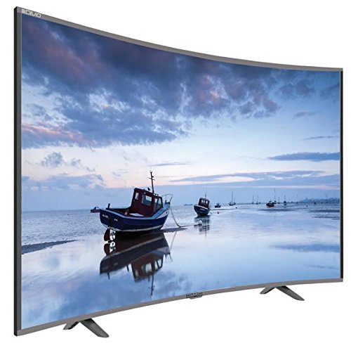 Mitashi 4K Ultra HD 32 Inch Curved LED TV in Black color