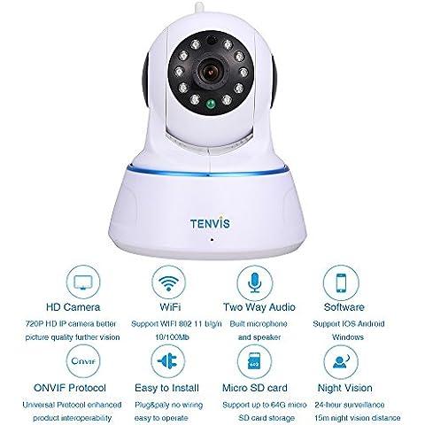 H. 264 TENVIS 1,0 MP HD 1280x720P