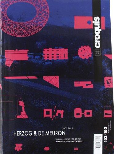 Croquis 152/153 - herzog & de meuron 2005-2010 (Revista El Croquis)